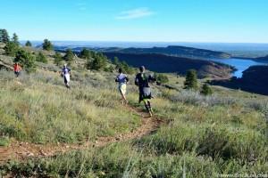 Blue Sky Trail Marathon Course